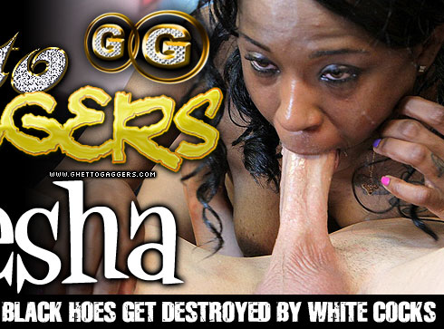 Moesha Destroyed On Ghetto Gaggers